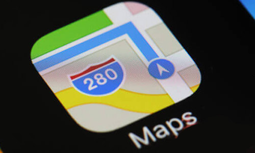 Icono de Apple maps para SEO local