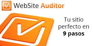 website auditor optimización de sitios web