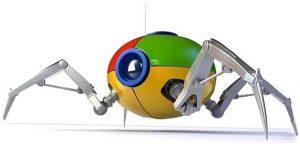 Araña de Google. Rastreo de sitios para posicionamiento SEO local